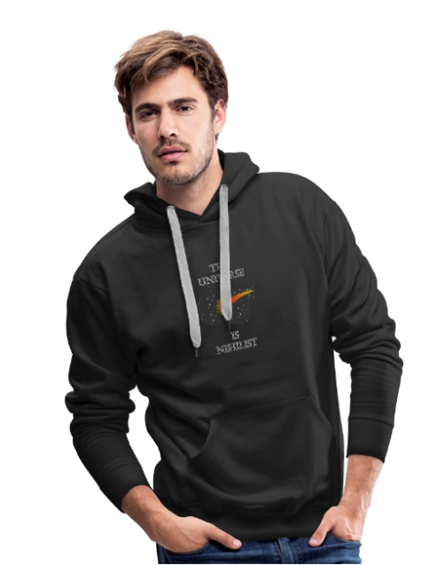 The universe is Nihilist Hoodie
